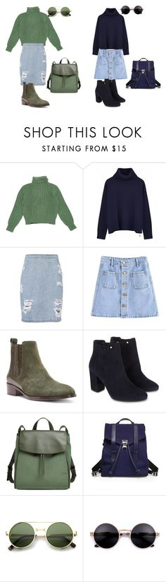 """""""Ann style"""" by miss-dennitsa ❤ liked on Polyvore featuring Yves Saint Laurent, Ille De Cocos, IRO, Donald J Pliner, Monsoon, Skagen, Proenza Schouler and ZeroUV"""