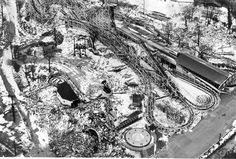 The demolition of Riverview Amusement Park Feb. 12, 1968...they paved over my fun-fantasy world :-( Future generations never got to enjoy it as I did.