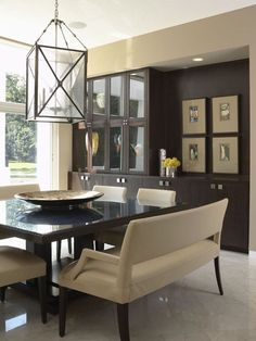 Square dining table and benches Twist Interior.  ♥ Discover the season's newest designs and inspirations. Visit us at  www.moderndiningtables.net #diningtables #homedecorideas #diningroomideas