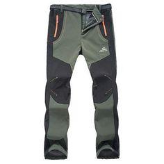 Mens Outdoor Waterproof Quick-Dry Sport Pants
