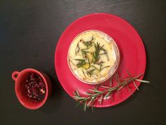 Baked Camembert (from Tesco) with rosemary and garlic, served with a cranberry and walnut dip. Heaven. #TriedItFree #TriedForLess