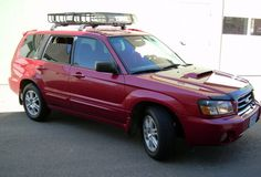 Lifted Subaru Forester With Steel Wheels Car Just For