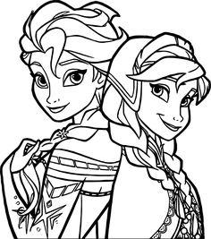 Frozen coloring pages elsa face is a part of frozen coloring pages ...