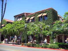 Love downtown Santa Barbara. Beautiful architecture.
