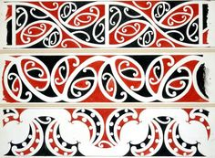 Williams, Herbert William 1860-1937 :Designs of ornamentation on Maori rafters. Nos. 4, 5, 6 [1890s]
