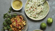 Hemsley Hemsley's basic cauliflower rice Melissa Hemsley, Hemsley And Hemsley, Rice Recipes, Vegetarian Recipes, Healthy Recipes, Healthy Meals, Hidden Veggies, A Food, Rice Food