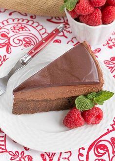 Frozen Chocolate Mousse Cake