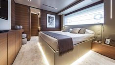 VIP cabin.