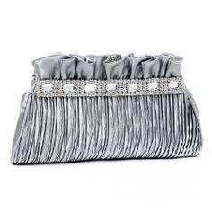 Damara Womens Mini Small Pleated Crystal Clutches Handbags,silver Damara To purchase just click on Amazon right here http://www.amazon.com/dp/B00KLPDU74/ref=cm_sw_r_pi_dp_JJnQtb1QRHP6V4FB