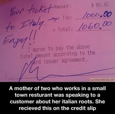 There's still good people out there…