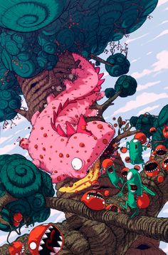 The Art Of Animation, Jonatan Cantero one of the side stories created when they were younger..