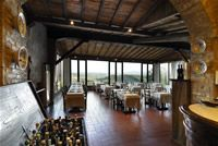 Our favorite restaurant in San Gimignano