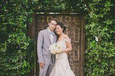 Casamento em The Parker Palm Springs, na Califórnia - o verde e amarelo decorando as emoções