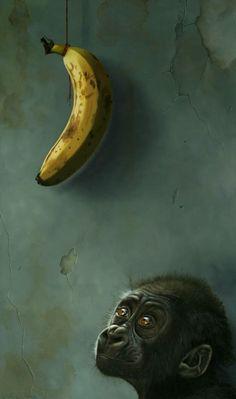 Suzan Visser   OIL   Banana