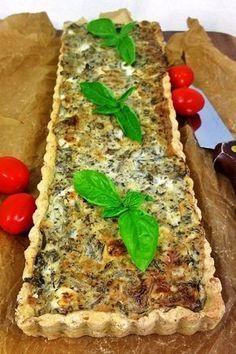 Suppilovahvero-fetapiirakka Everyday Food, Meatloaf, Quiche, Feta, Sandwiches, Toast, Food And Drink, Cooking Recipes, Baking