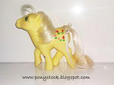 Posey UK (Earth Ponies 1984) G1 My Little Pony Hasbro Vintage