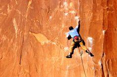 Rock climbing...Great full body workout!
