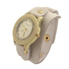 Relógio Bracelete Branco
