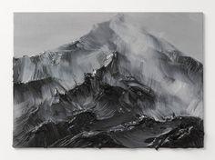 zwischen himmel und erde Q, 2012, 25x35 cm, oil on canvas