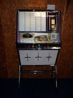 jukebox on legs. http://www.pinterest.com/TheHitman14/ghosts-of-audios-past/