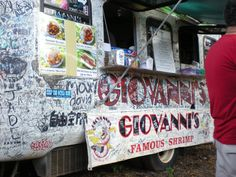 Giovanni's Shrimp Truck in Hawaii