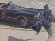 1960's: Batman is fairly agile.