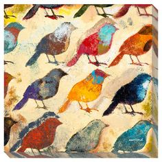 Bird Day I Wall Art