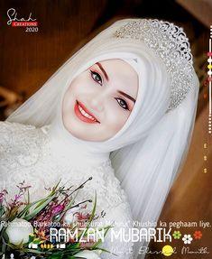 Hijab Dpz, Girlz Dpz, Bridal Hijab, Stylish, Wedding Veils