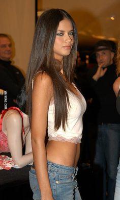 Younger Adriana Lima - 9GAG
