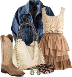 """""""A Little Bit Country"""" by happygirljlc on Polyvore"""