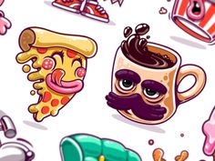 Kik Messenger Stickers
