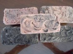 Soleseife- Salt bars of soap!
