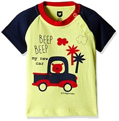 612 League Baby Boys' T-Shirt (ILS17I35023-3 - 6 Months-YELLOW)