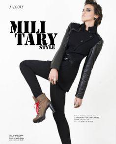 Military Style - Revista J #Trends #JockeyPlaza #Style #Winter #2013