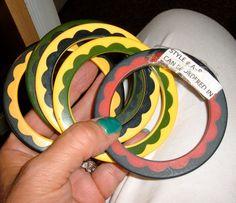 Bakelite Vintage Salesman Samples: 2 color by Bakelitecache on Etsy, $300.00