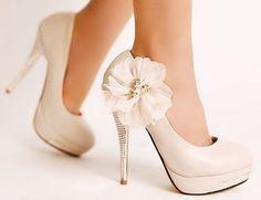 Designer-Damen-Schuhe-High-Heels-Beige-Kristalle-Pumps-1A-Qualitaet-UVP-49-90
