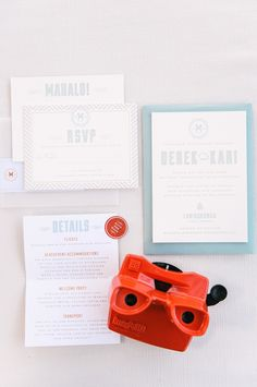 Modern Meets Vintage at the Beach in Hawaii! See this #destination wedding and read the bride's story about personalizing the day. On SMP: http://www.StyleMePretty.com/destination-weddings/2014/01/28/modern-vintage-oahu-wedding-at-lanikuhonua/ Christie Pham Photography