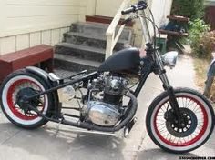Old school classic bobber style