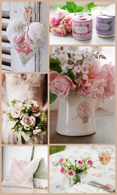 All Things Shabby and Beautiful Romantic Cottage, Romantic Homes, Shabby Chic Homes, Shabby Chic Decor, Collages, Affinity Photo, Beautiful Collage, Beautiful Life, Beautiful Roses