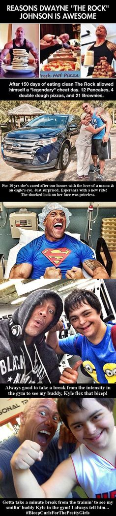 I've loved The Rock for a long time and I'm so glad now that the interwebs are getting on-board.