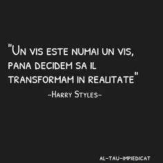 Un vis e vis pana il transform in realitate!