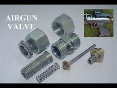 Homemade PCP Air Gun Valve for Homemade Airguns - YouTube