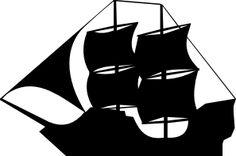 Pirate Ship clip art - vector clip art online, royalty free & public domain