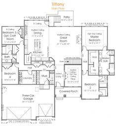 you want space to meet your familys needs the 4 bedrooms of the tiffany floor
