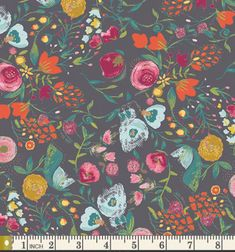 Emmy Grace cotton fabric by Bari J for Art by Lilliansquiltshack