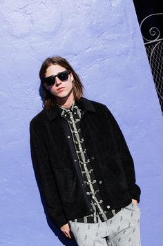 PS Paul Smith is designed in London, this youthful men's collection includes colourful cotton essentials and a wide range of denim. Shop the collection now. Live Fashion, Mens Fashion, Spring Summer 2015, Paul Smith, Men's Collection, Bomber Jacket, Denim, Jeans, Ps