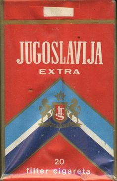 <b>Jugoslavia Extra 20 Filter Cigareta (design 1)</b><br><br><i>Sold in</i> USSR <br><i>Made in</i> Yugoslavia in 80's year <br><i>Producer</i>: JTS<br><i>Trade Mark Owner</i>: JTS<br><i>Size height/width/depth (mm)</i>: 83/55/22<br><i>Open type</i>: v<br><i>Previous owner</i>: Valeriy (Minsk)<br><i>Condition</i>: Full<br><b>DOUBLES AVALIABLE</b>: NO