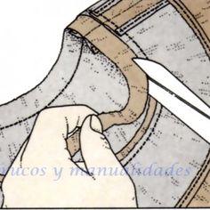 Tipos de escotes, escote redondo 3