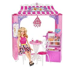 A Barbie e a pastelaria!