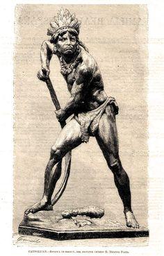 Grabado Caupolican-Nicanor Plaza - Mapuche - Wikipedia, the free encyclopedia Gaucho, Indigenous Art, Bruce Lee, Chile, Nativity, Horror, Plaza, Tattoo Ideas, Google